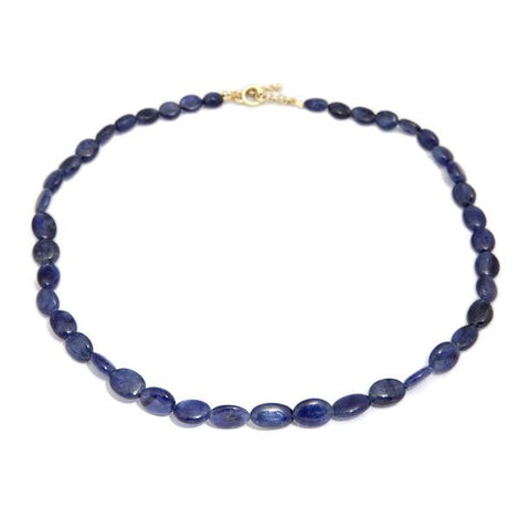 Friederike Grace Sapphire and 18ct Yellow Gold Necklace