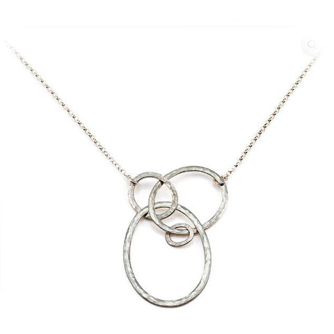 Heather O'Connor Small Detangle Textured Silver Necklace