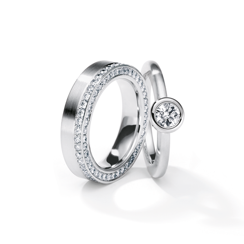 Henrich & Denzel Platinum Diamond Ring