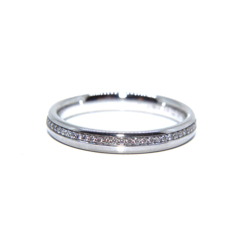 Henrich & Denzel Platinum 'Adding' Eternity Diamond Ring
