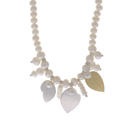 Inga Reed Pearl Silver Necklace