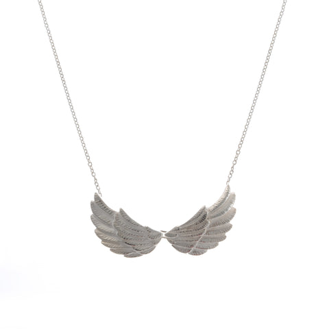 Jana Reinhardt Double Wing Silver Necklace