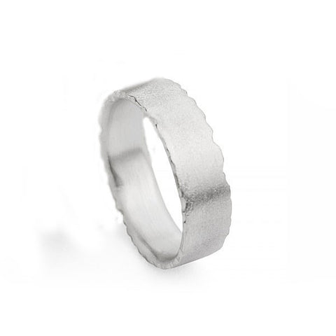 Kate Smith Satin Finish Silver Ring
