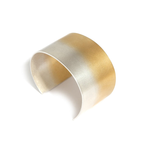 Kokkino Electra Wide Yellow Gold Plated Silver Bracelet