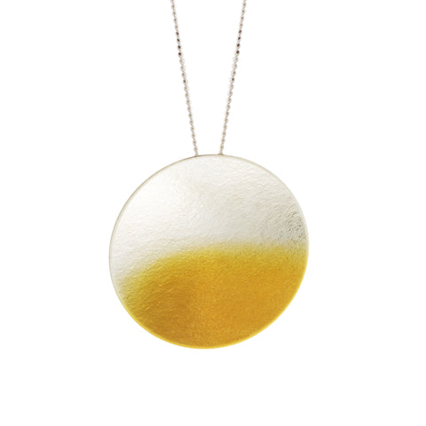 Kokkino 'Electra' Large 24ct Yellow Gold Plated Silver Necklace