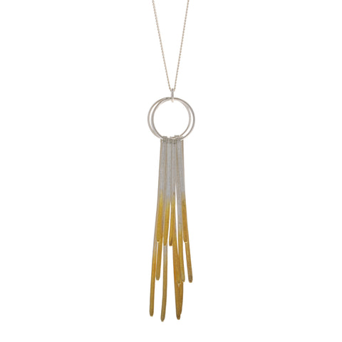 Kokkino Shimmer 24ct Yellow Gold Plated Multi Layer Silver Necklace