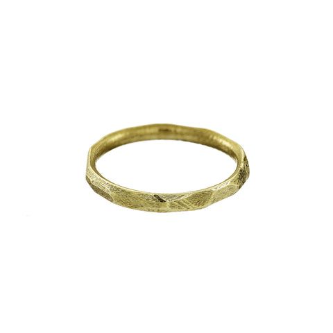 Loinnir 1916 Stone Of The Heart 9ct Yellow Gold Ring