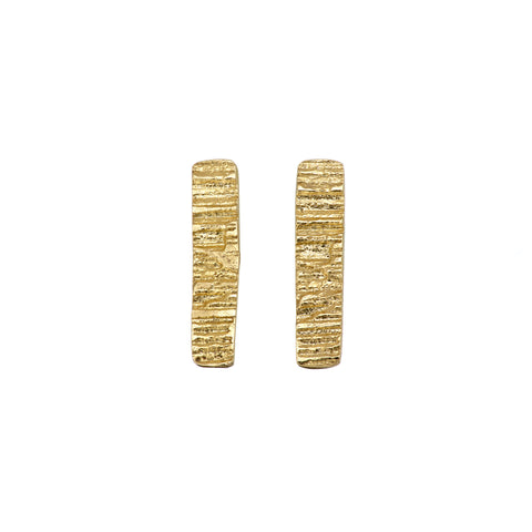 Loinnir Jewellery 'The Burren' 9ct Yellow Gold Earrings