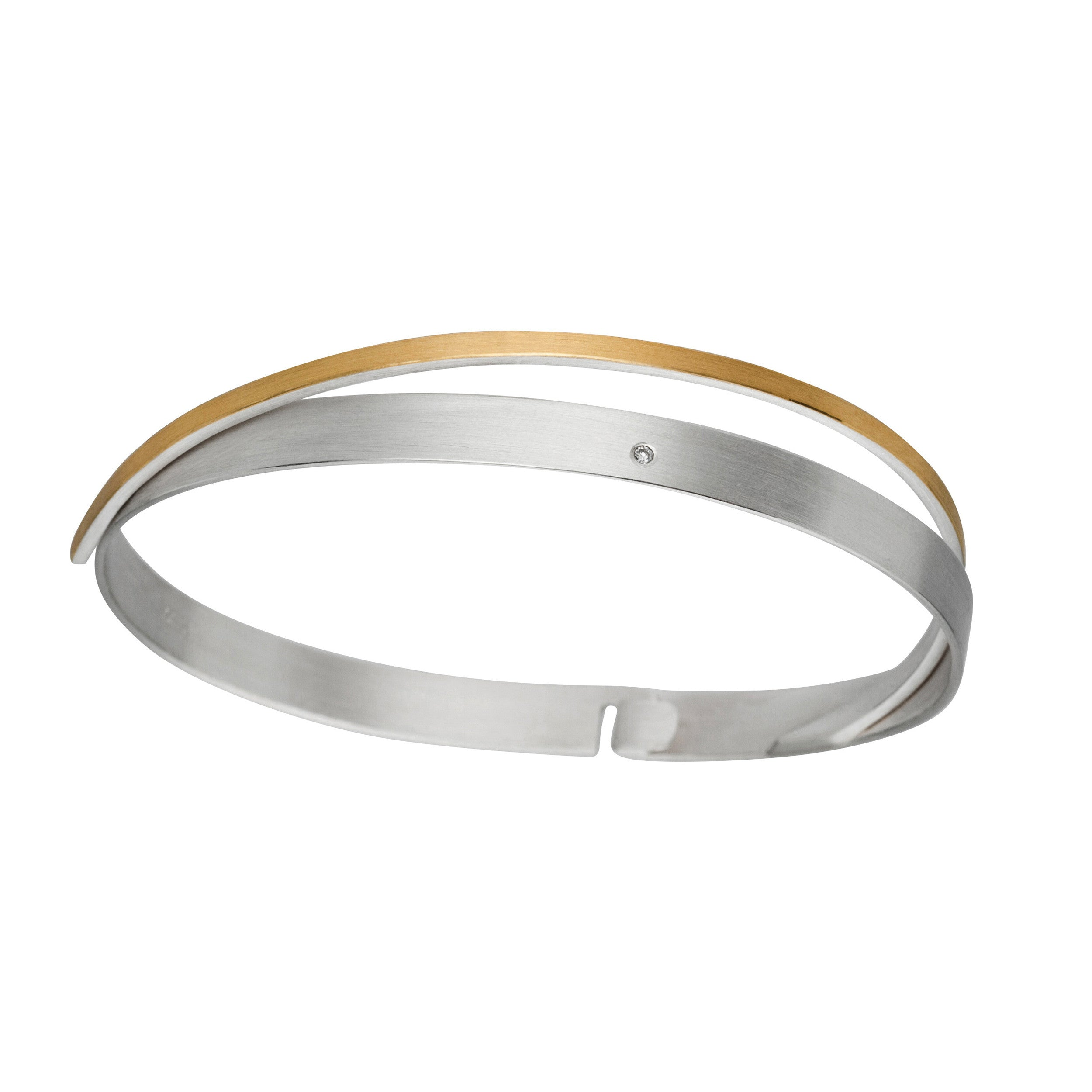 estate tw gold yellow and bangles diamond white bangle in bracelet