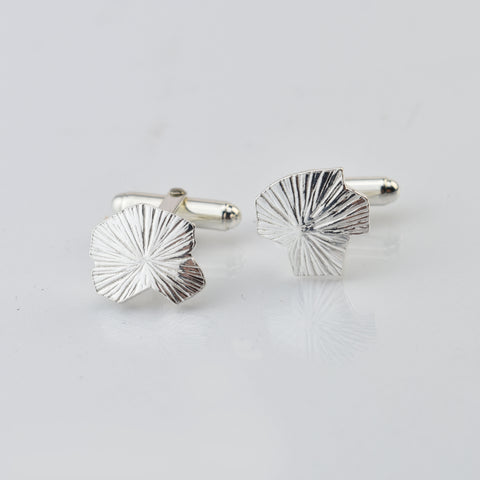 Martina Hamilton Seashore Sterling Silver Cufflinks