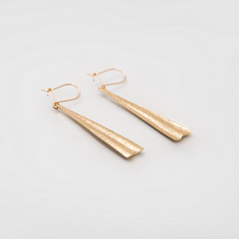 Martina Hamilton Shore 9ct Yellow Gold Earrings