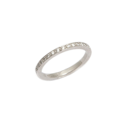 Mia Mullen Platinum Half Set Diamond Ring