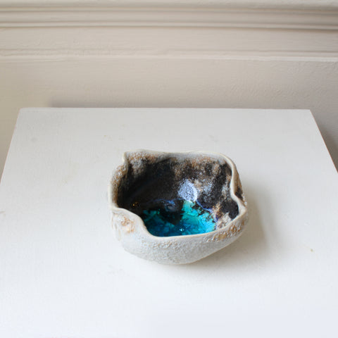 Michele Hannan 'Medium' Rock Pool Ceramic Sculpture