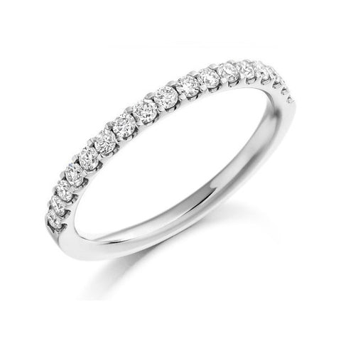 Micro Claw 18ct White Gold Diamond Ring