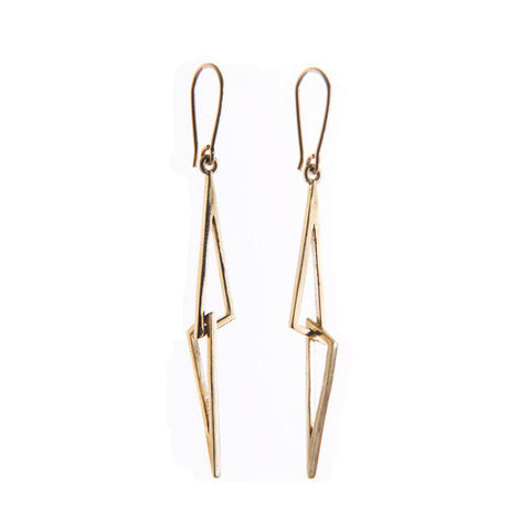Miriam Wade 'Linked' 9ct Yellow Gold Earrings