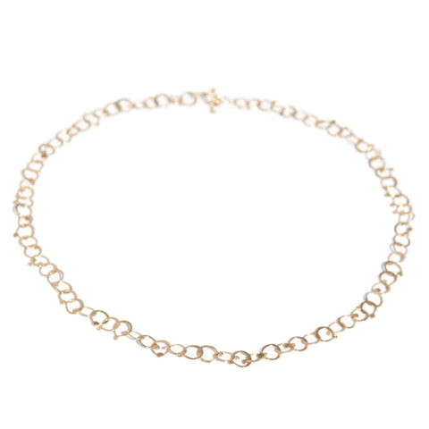 Neeltje Salter Drops 14ct Yellow Gold Necklace