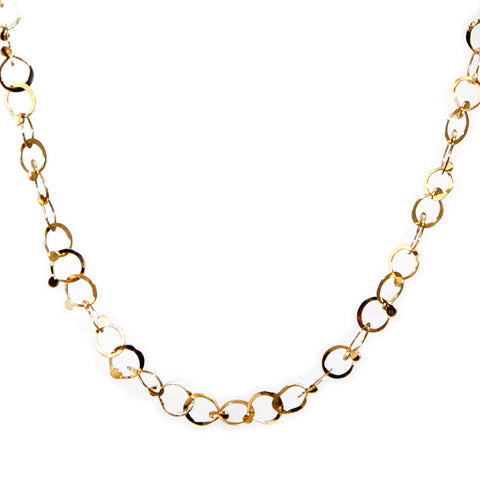 Neeltje Slater Drops 14ct Yellow Gold Necklace
