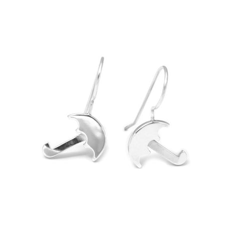 Nicole Van Der Wolf Sunny Spells Umbrella Drop Silver Earrings