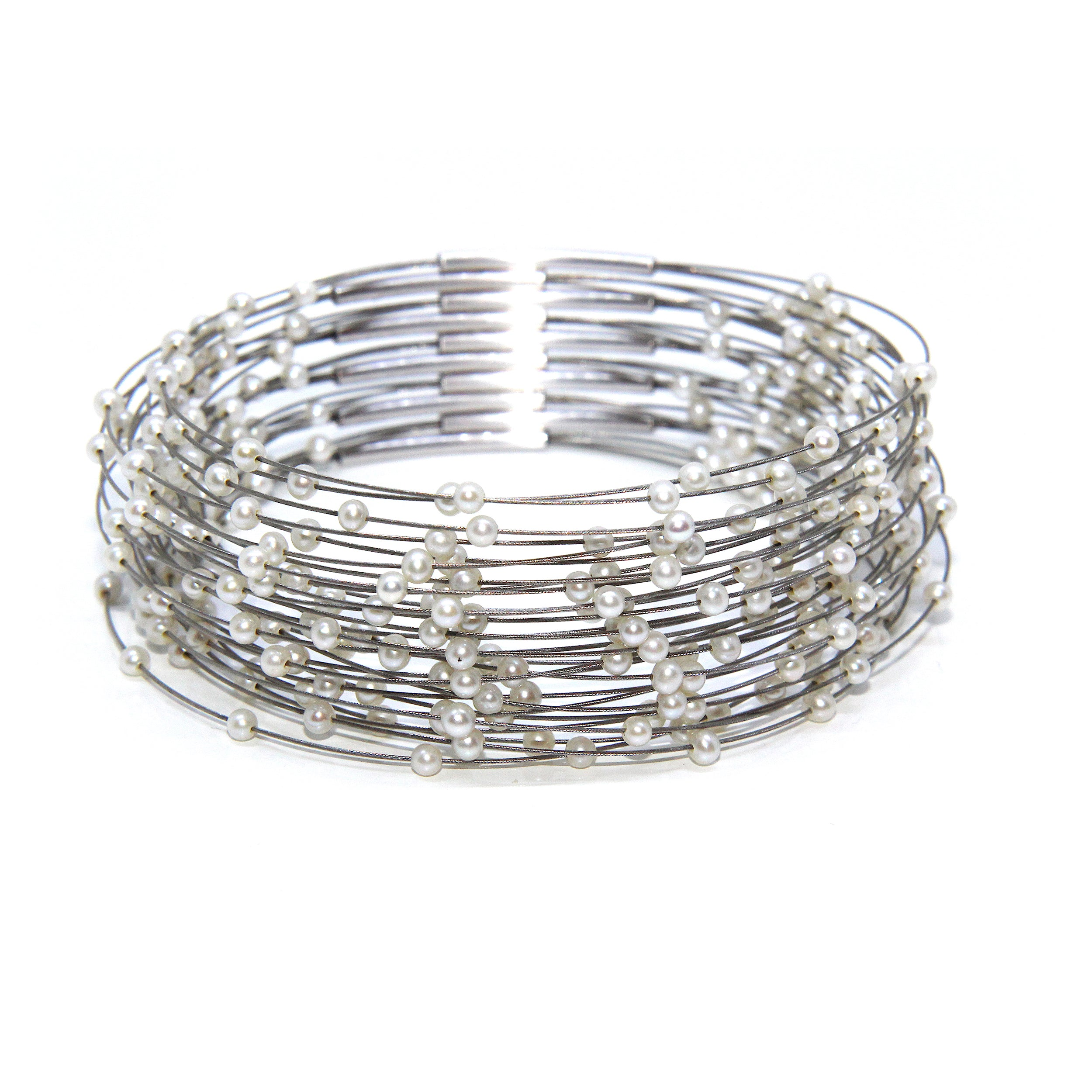 bangle hendrix products wouters sterling pure s silver textured bracelet