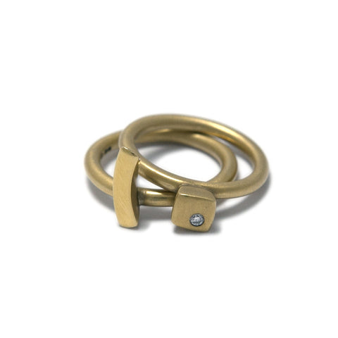 Paul Finch 'Curve' 18ct Yellow Gold Ring