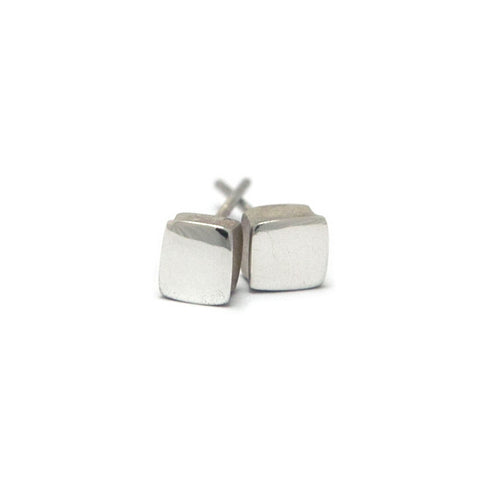 Paul Finch Square Silver Earrings
