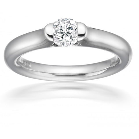 Paul Spurgeon 18ct White Gold D Flawless Diamond Ring
