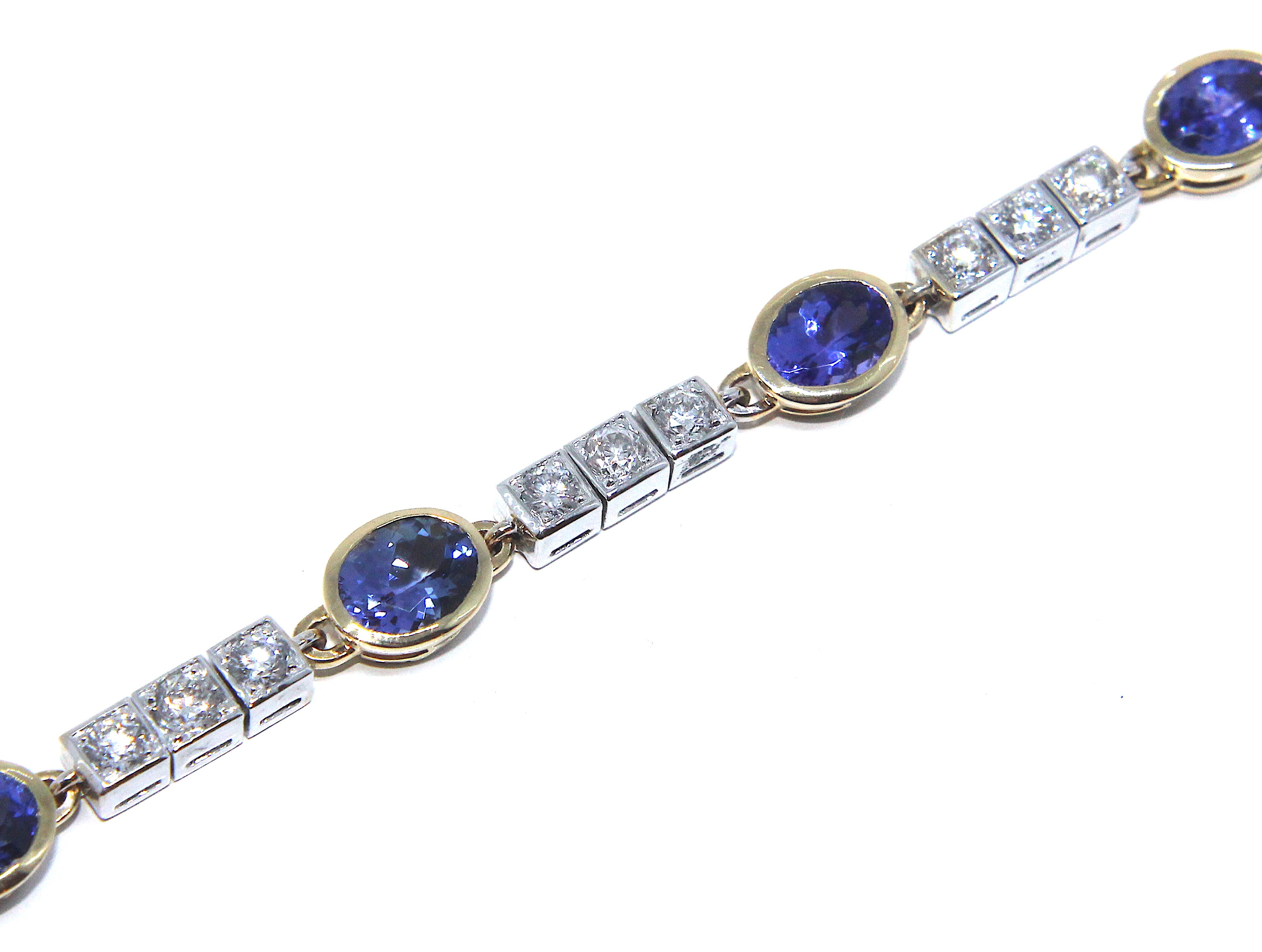 tanzanite rose gold and pinterest jewelry pin dezso bracelet
