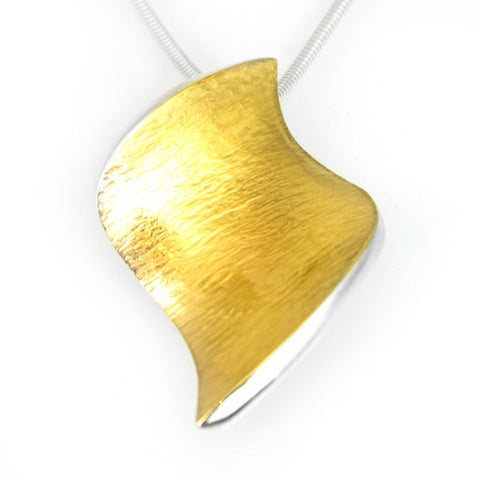 Seamus Gill Flowing Curves Small Pendant