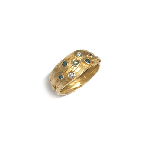 Shimara Carlow 18ct Yellow Gold Wrap Ring