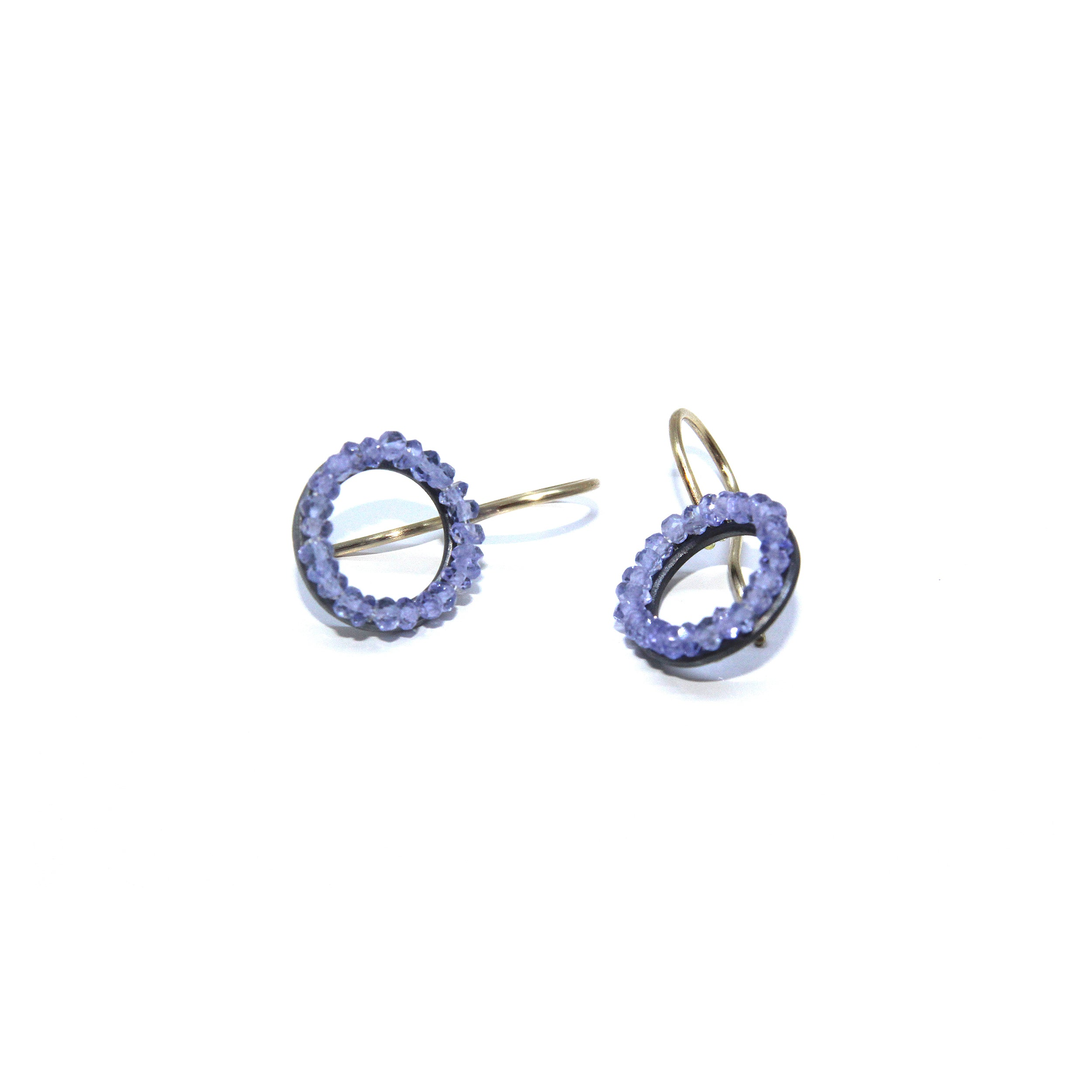 earrings obsidian jewellery claw product studs gold tanzanite set studio prev earring