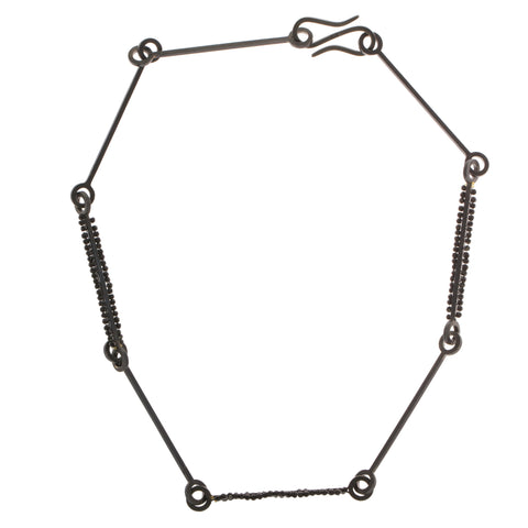 Sophia Epp Oxidized Silver Necklace
