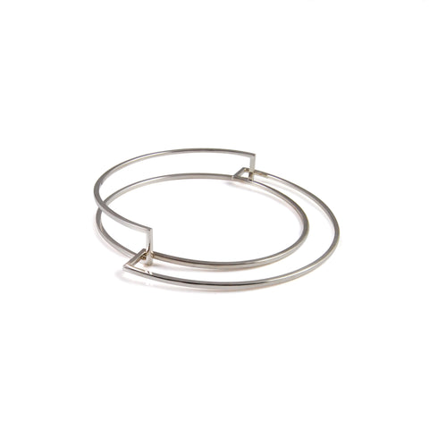 Heather O'Connor Double Slot Parallel Bangle