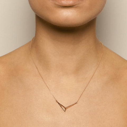 Miriam Wade Linked 9ct Yellow Gold Necklace