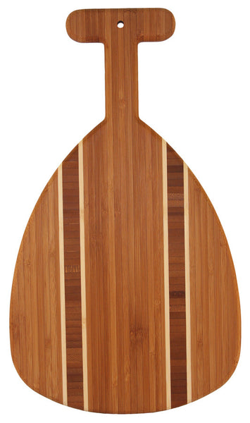 Outrigger Paddle Cutting and Serving Board