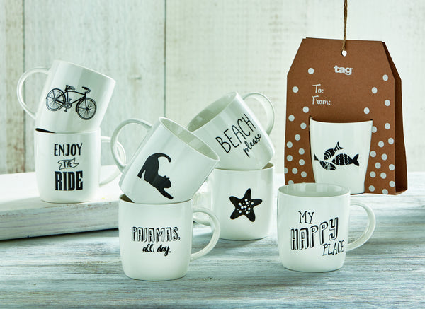 Hanging Heartfelt Coffee Mugs
