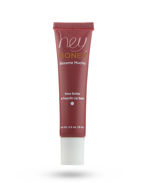 Hey Honey Besame Mucho Shea Butter Propolis Lip Balm