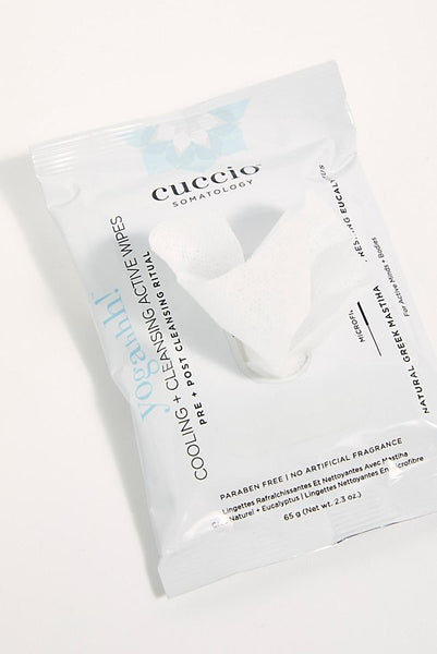 Cuccio Somatology Cooling + Cleansing Active Body Wipes