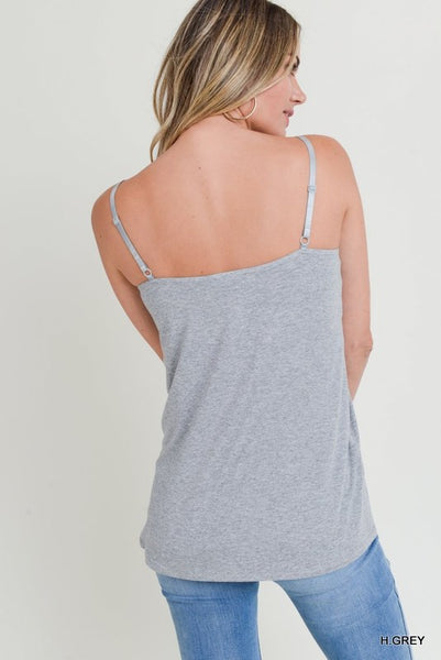 Cami with Lace Detail