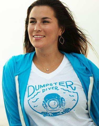 Women's Dumpster Diver Recycled Shirt