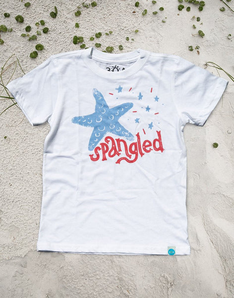 Youth Star Spangled Tee