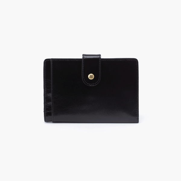 HOBO Pax Passport Wallet Black