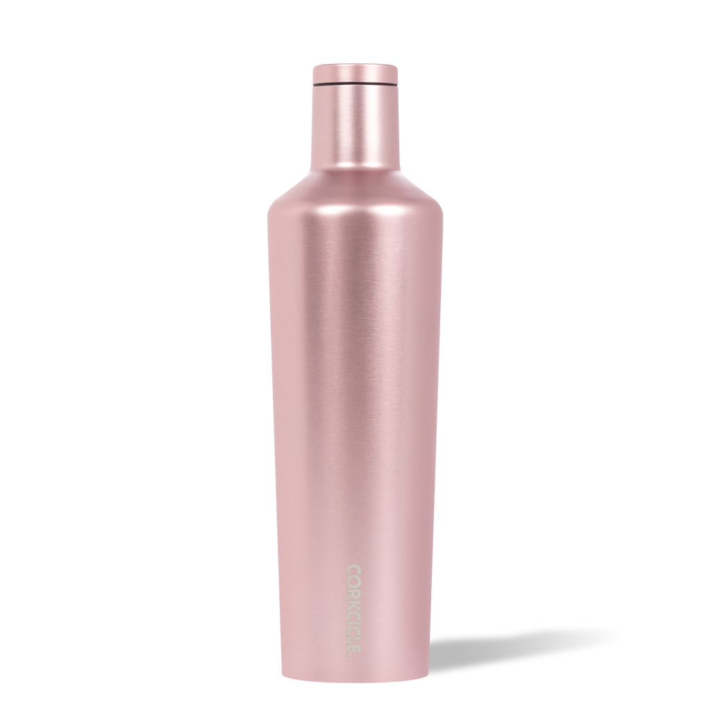 25 oz. Corkcicle Canteen Insulated Metallic Rose