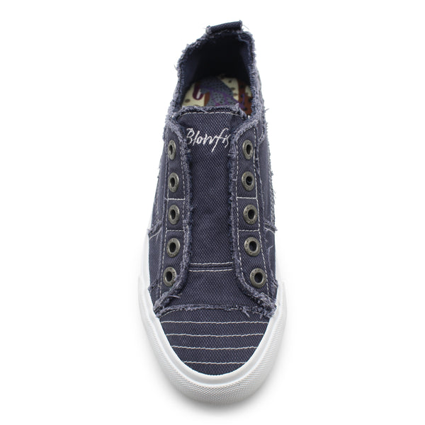 Blowfish Play Frayed Canvas Sneakers