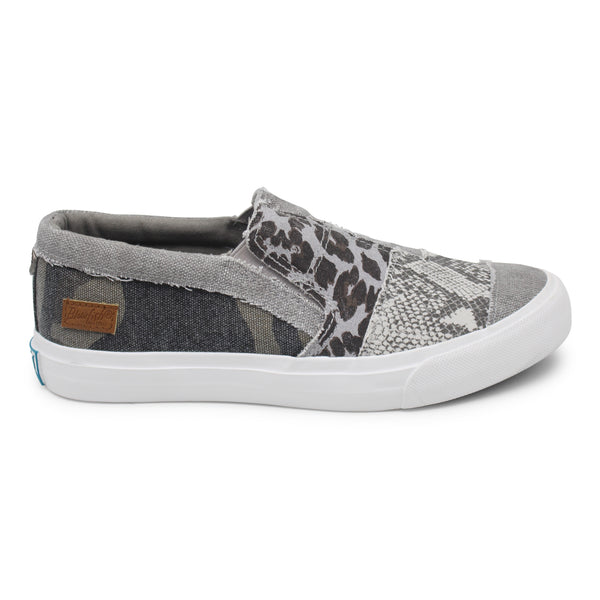 Blowfish Maddox Frayed Canvas Sneakers