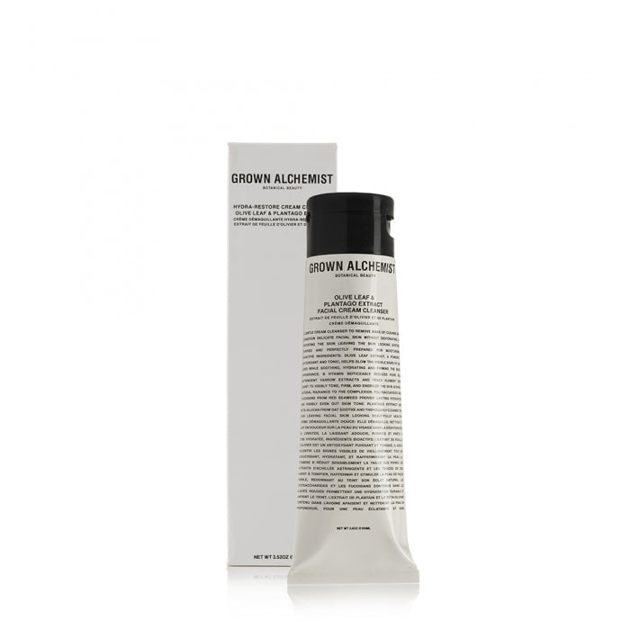 Grown Alchemist Hydra-Restore Cream Cleanser in Olive Leaf and Plantago Extract