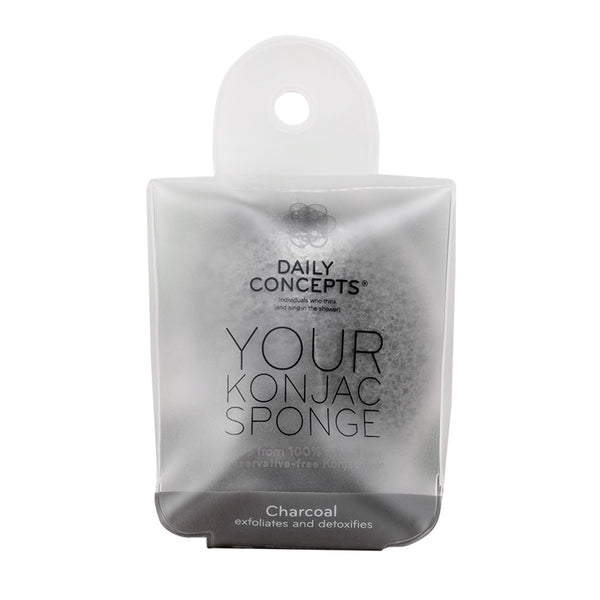 Daily Concepts Your Konjac Charcoal Sponge