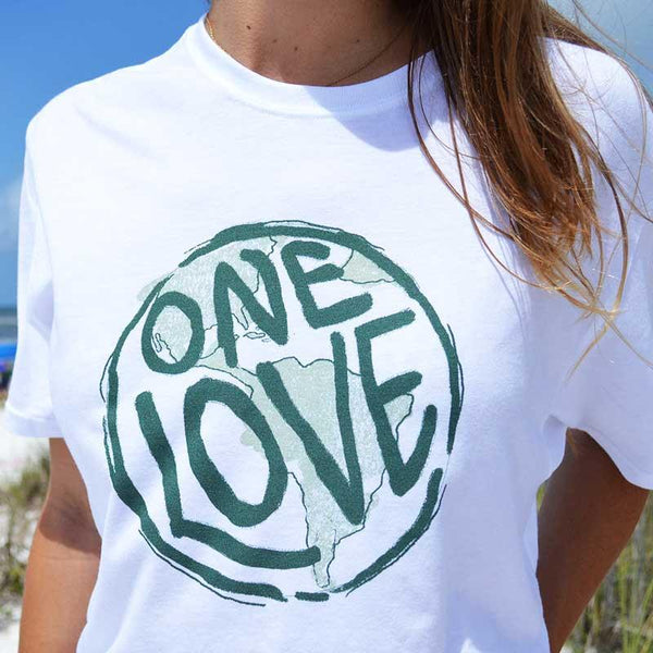 One Love Recycled Tee