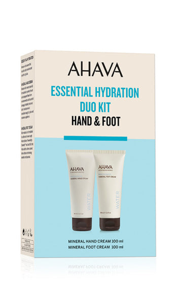 AHAVA Mineral Duo Kit: Hand & Foot Cream