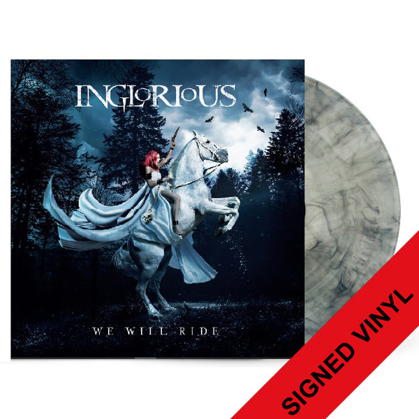 WE WILL RIDE - SIGNED LTD EDITION VINYL [Pre-Order]