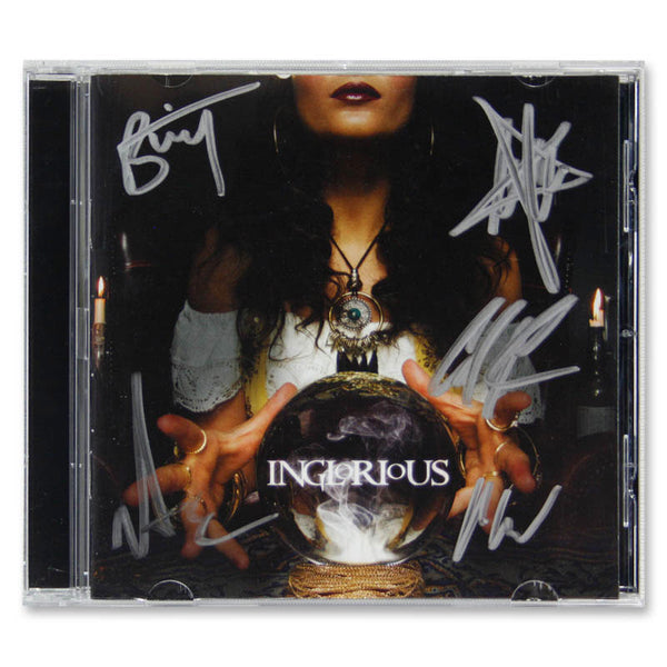 Inglorious by Inglorious - CD (SIGNED)